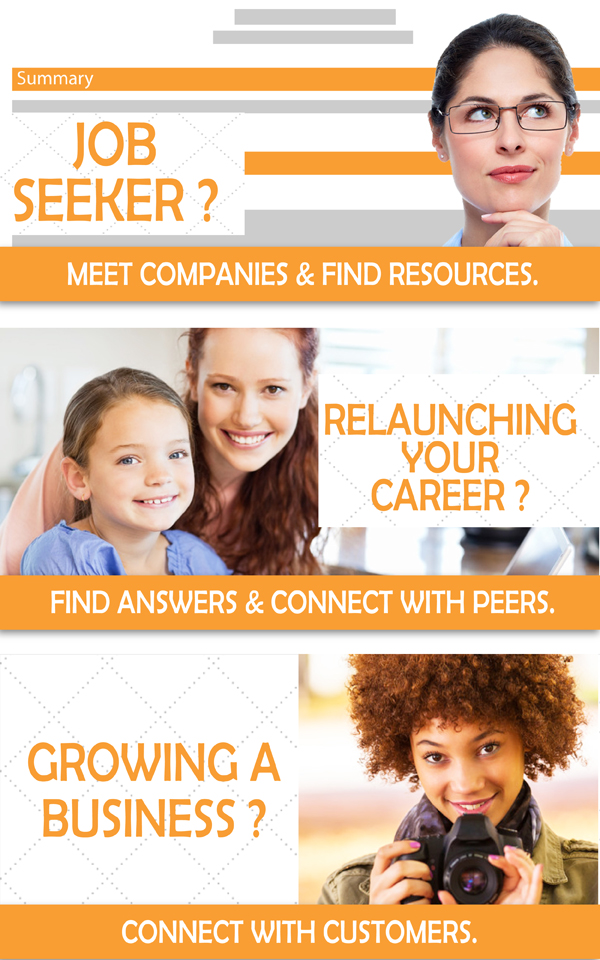 Resources and networking for Entrepreneurs,Job Seekers and Relaunchers