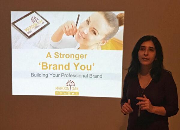 Pooja Krishna at a Brand Workshop