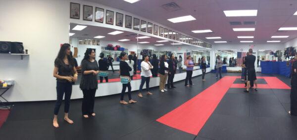 Self Defense Primer at our Brand Building Workshop