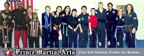 Prince Martial Arts womens self defense primer