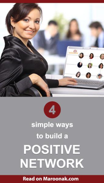 Build a positive career network